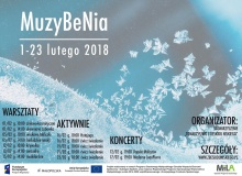 Plakat MuzyBeNia 2018