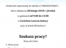 Targi Pracy 2018 - plakat